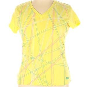 FILA Sport v neck short sleeve active shirt